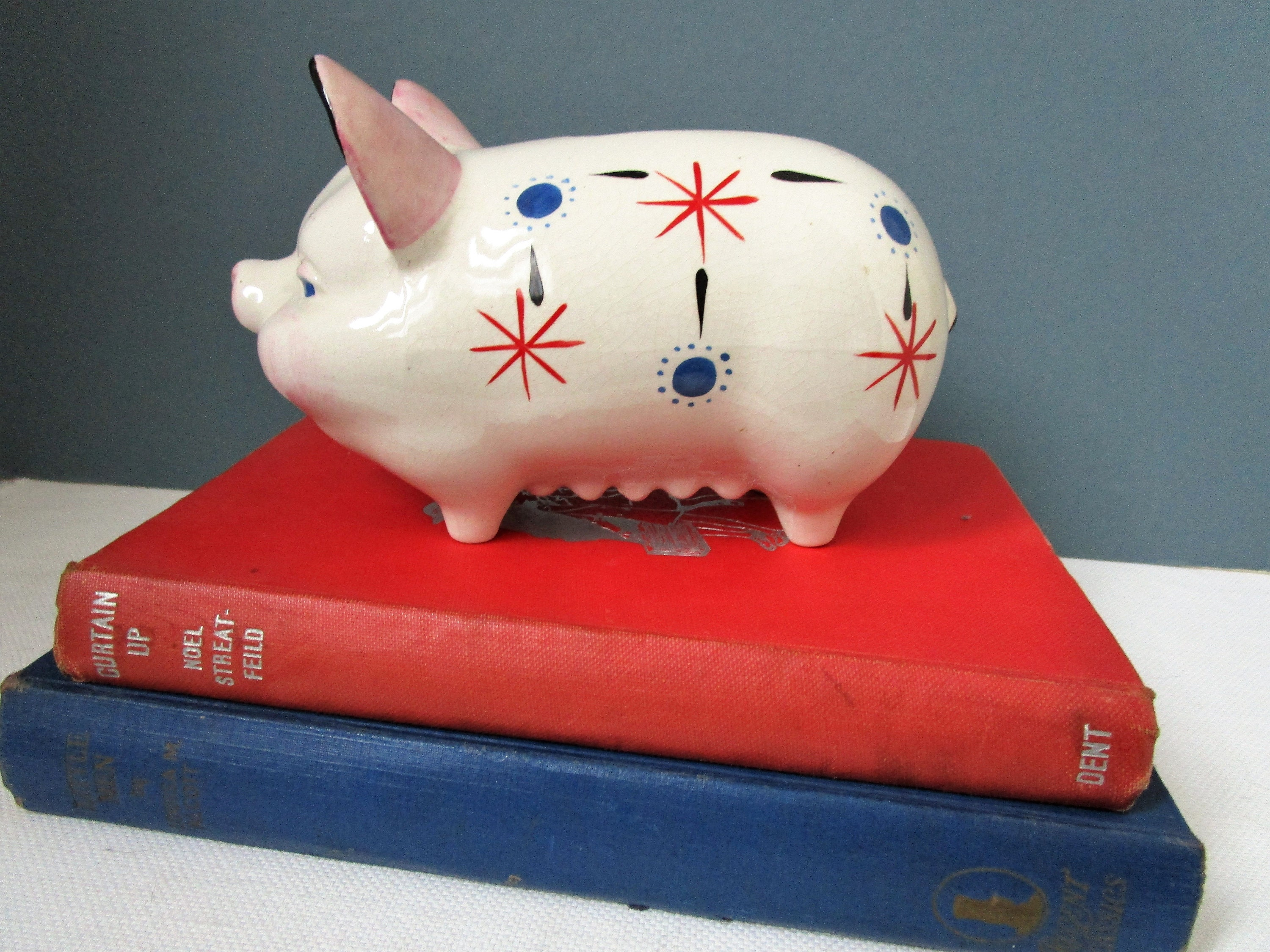 Retro Bank Design.Vintage Piggy Bank Mid Century Retro Kitsch Money Box Savings Etsy