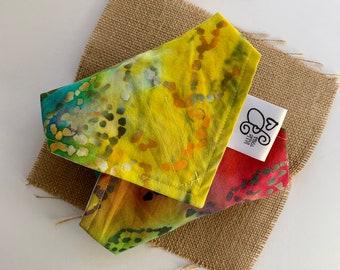 Tie Dye Fabric Sandwich Wrap