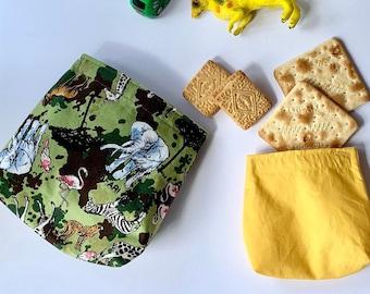 Safari Reusable Snack Bag bundle