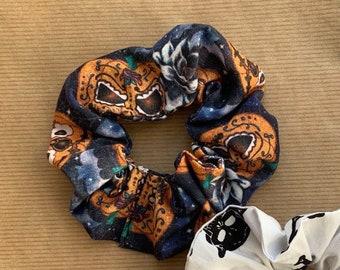Pumpkin print Scrunchie
