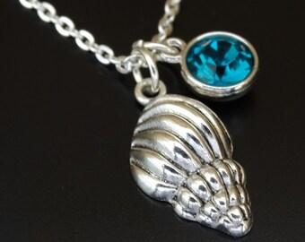 Sea Shell Necklace, Sea Shell Charm, Sea Shell Pendant, Sea Shell Jewelry, Seashell Necklace, Seashell Charm, Seashell Pendant, Nautical