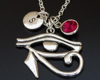 Eye of Ra Necklace, Eye of Ra Charm, Eye of Ra Pendant, Eye of Ra Jewelry, Eye of Horus Necklace, Eye of Horus Jewelry, Eye of Horus Charm