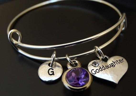 Goddaughter Bracelet Goddaughter Charm Goddaughter Pendant