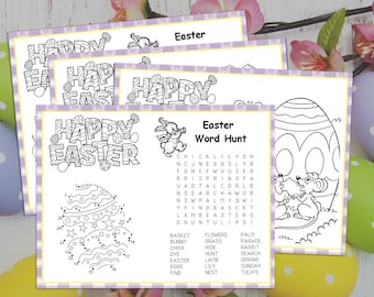 Easter Placemat Etsy