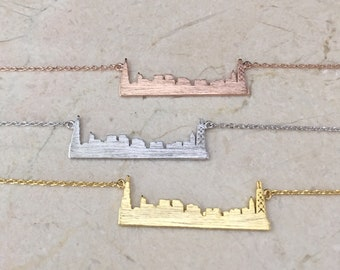 Chicago Skyline Necklace