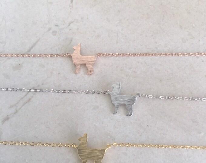 Llama Necklace NEW