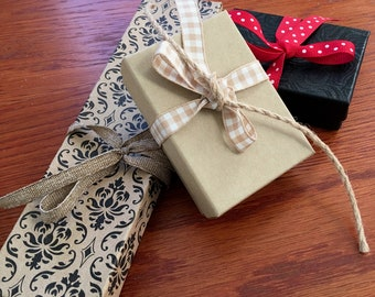 Gift Box and Ribbon