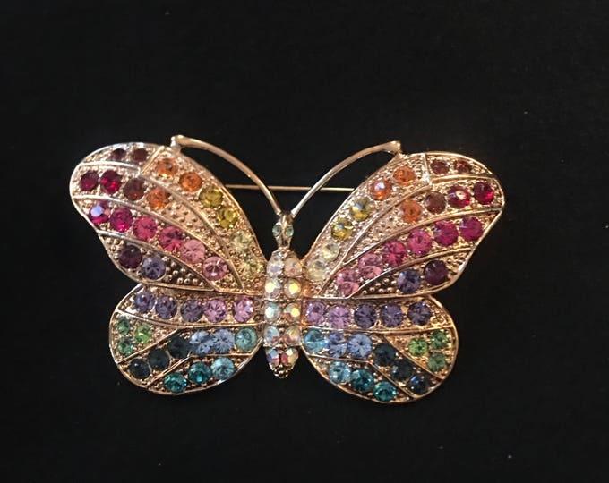 Kirks Folly Butterfly Pin