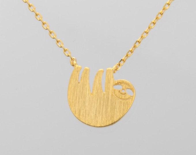 Sloth Necklace