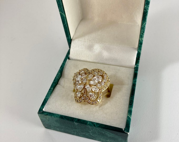 Suzanne Somers Butterfly Ring