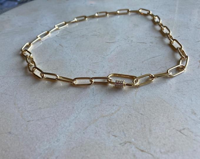 Carabiner Necklace