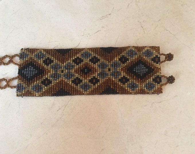Beaded Cuff Bracelet