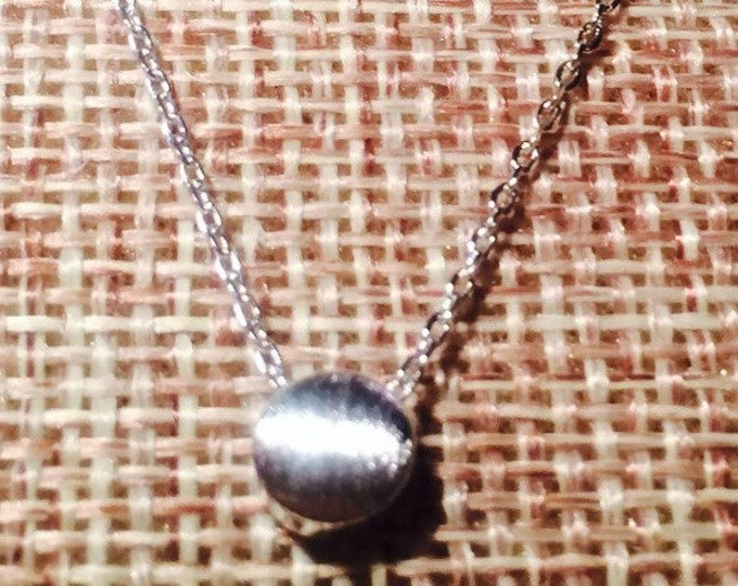 Silver Dot Necklace
