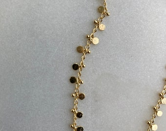 Floating Disc Necklace