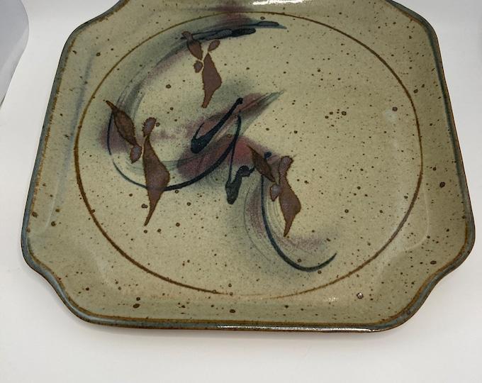 Robin Cage Stoneware Art Pottery