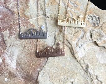 Skyline Necklace Seattle