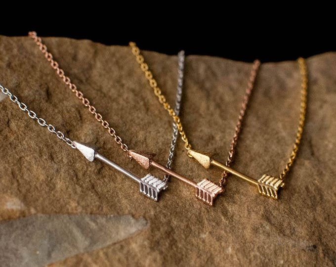 Arrow Necklace //Tiny Arrow Necklace