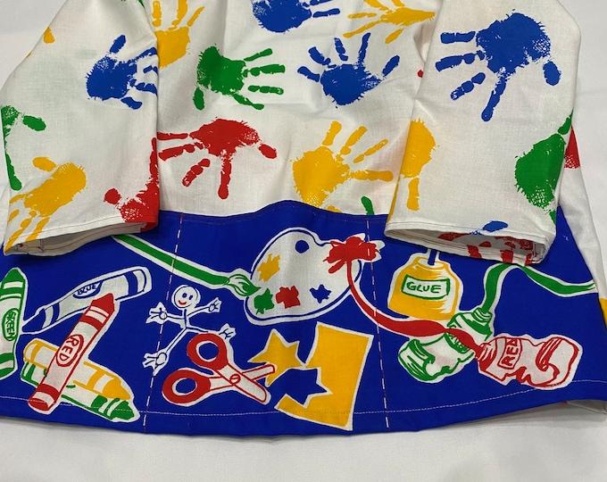Craft Smock, Craft Smock Child, Toddlers Craft Smock, Art Smock for Kids, Childrens Art Smock, Kids Art Smock, Birthday Boy, Birthday Girl