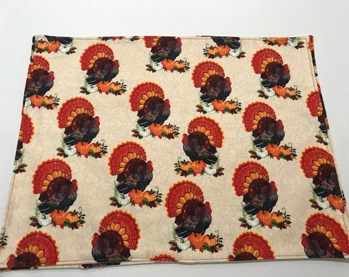 Thanksgiving Turkeys, Thanksgiving Placemats, Turkey Decor, Thanksgiving Table Decor, Turkey Placemats, Holiday Place Settings, Unique Mats