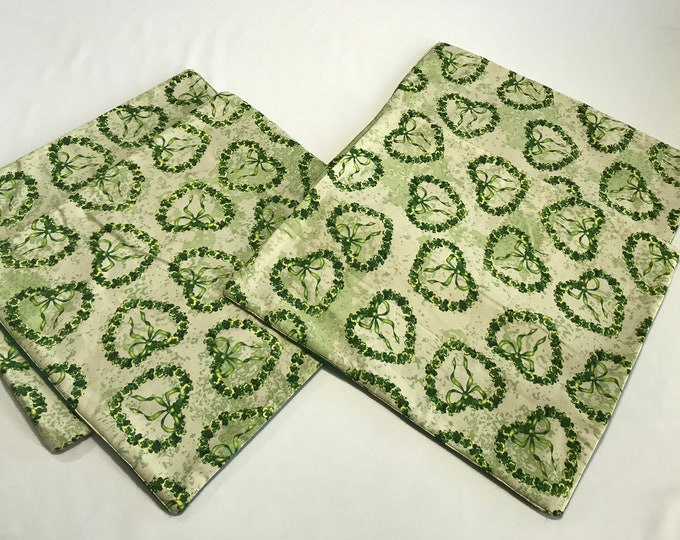 Green Placemats, Green St Patricks Day, Placemats Green, Small Placemats, St Pattys Day Decor, Green Doilies, Housewarming Gift,Wedding Gift