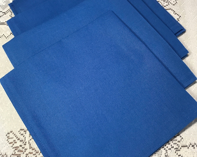Dinner Napkins, Cloth Dinner Napkins, Fabric Dinner Napkins, Cloth Napkins, Cotton Napkins, Lunch Napkins,Reusable Napkins, Set of 4 Napkins