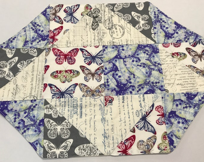 Cloth Placemats, Cloth Placemat Set, Cloth Place Mats, Butterfly Placemats,Nature Placemats,End Table Mats,Kitchen Placemats,Fabric Placemat