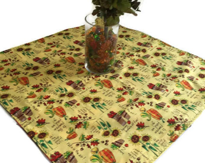 Fall Table Centerpiece, Dining Table Centerpiece, Table Centerpiece Fall, Autumn Table Runner, Fall Table Runner, Reversible Runner