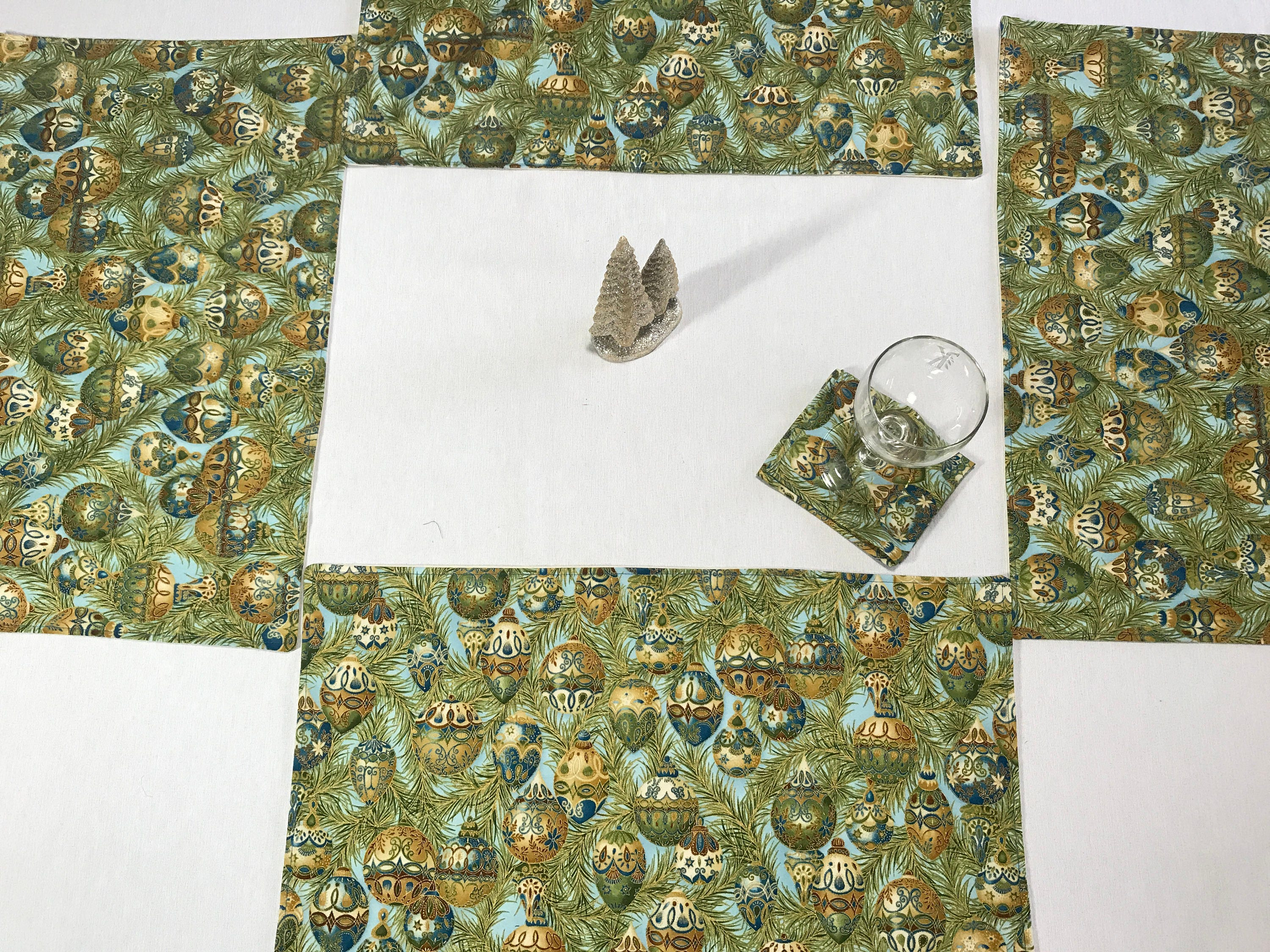 cloth placemats and napkins gallery photo gallery photo gallery photo gallery photo - Christmas Placemats And Napkins