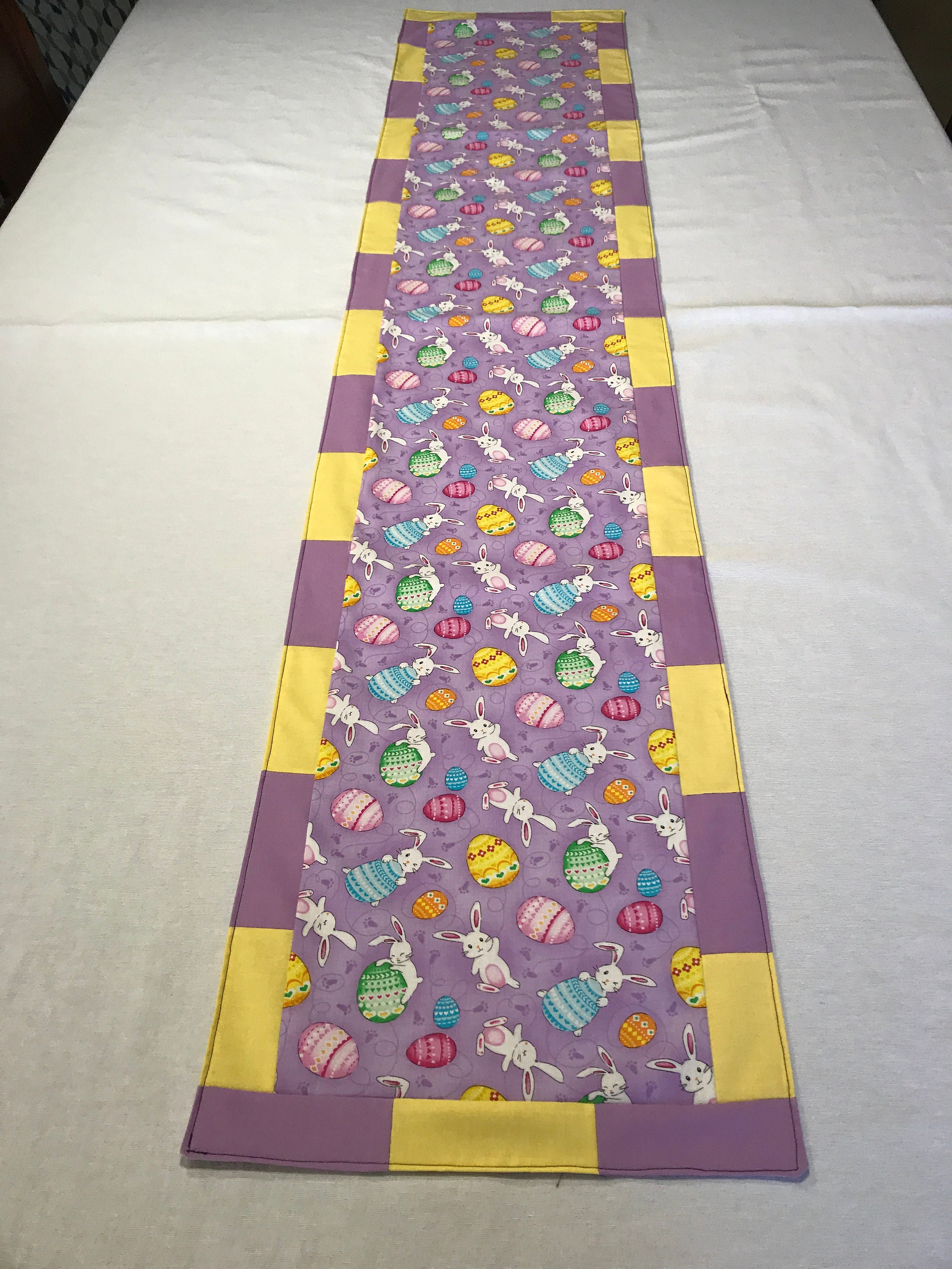Easter Egg Table Runner Easter