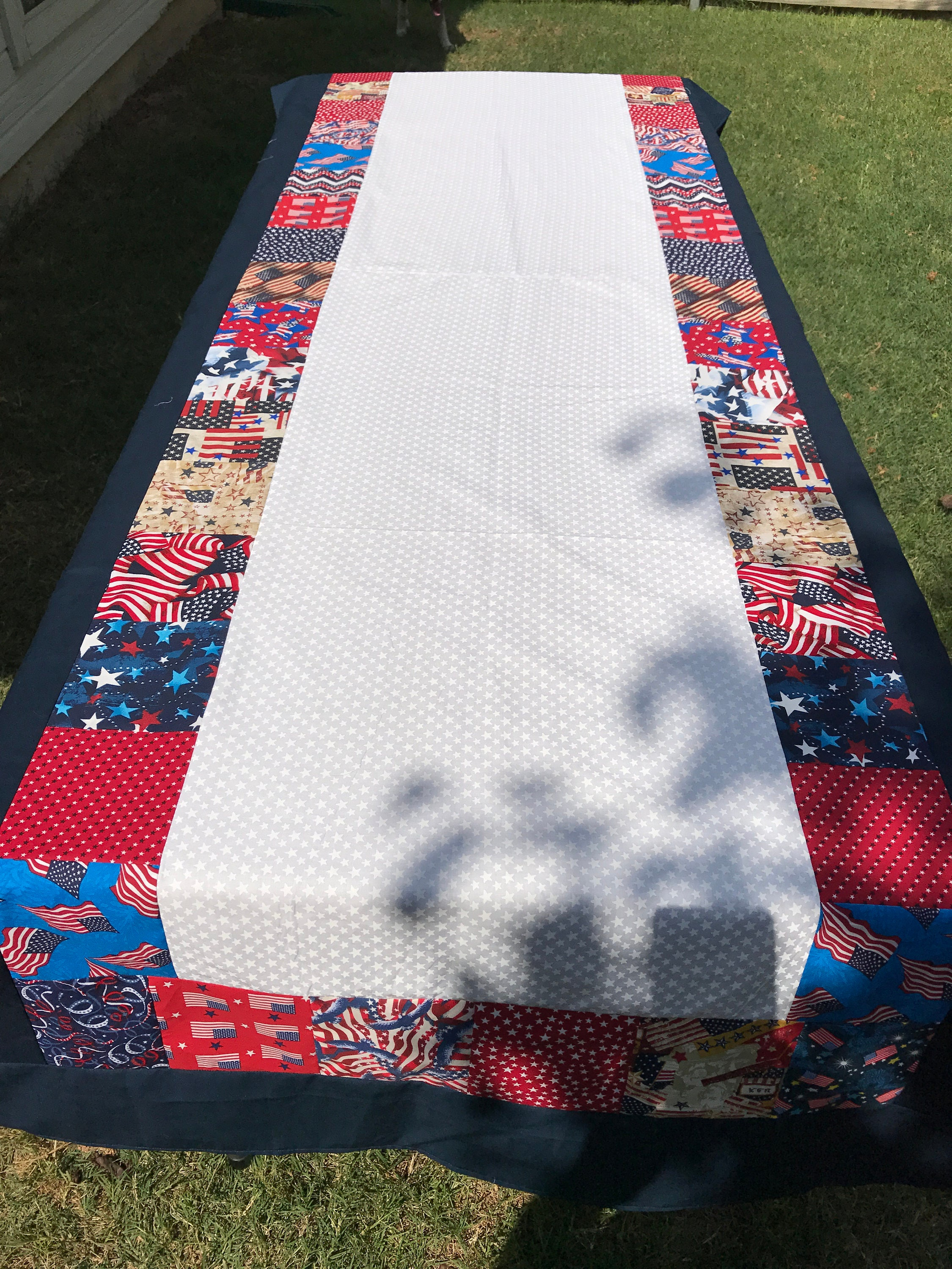 Picnic Tablecloth, Picnic Table Cloth, 4th of July Picnic ...