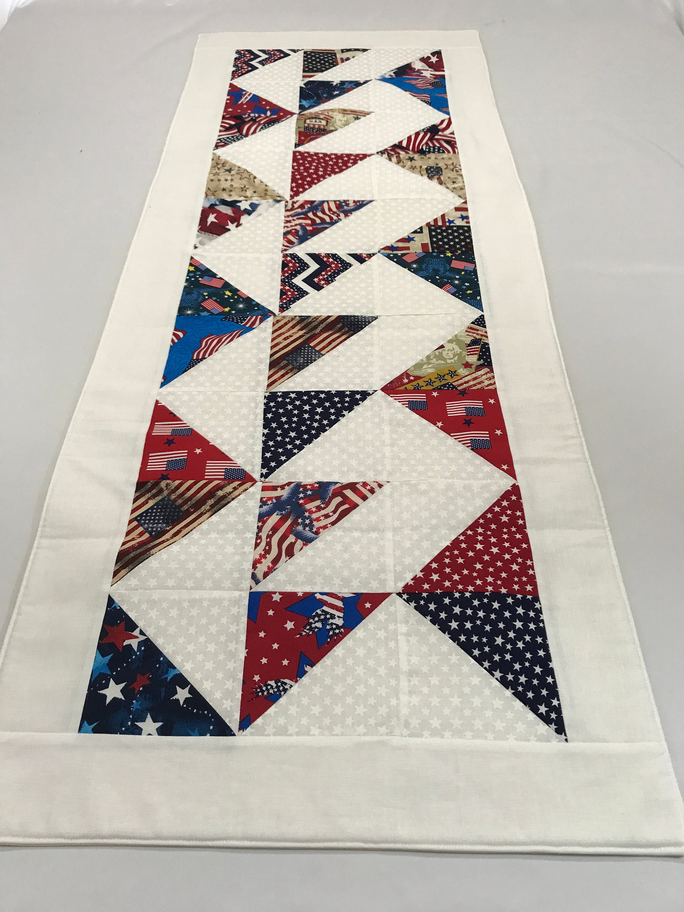 Red And White Table Runnerred White And Blue Table Runner
