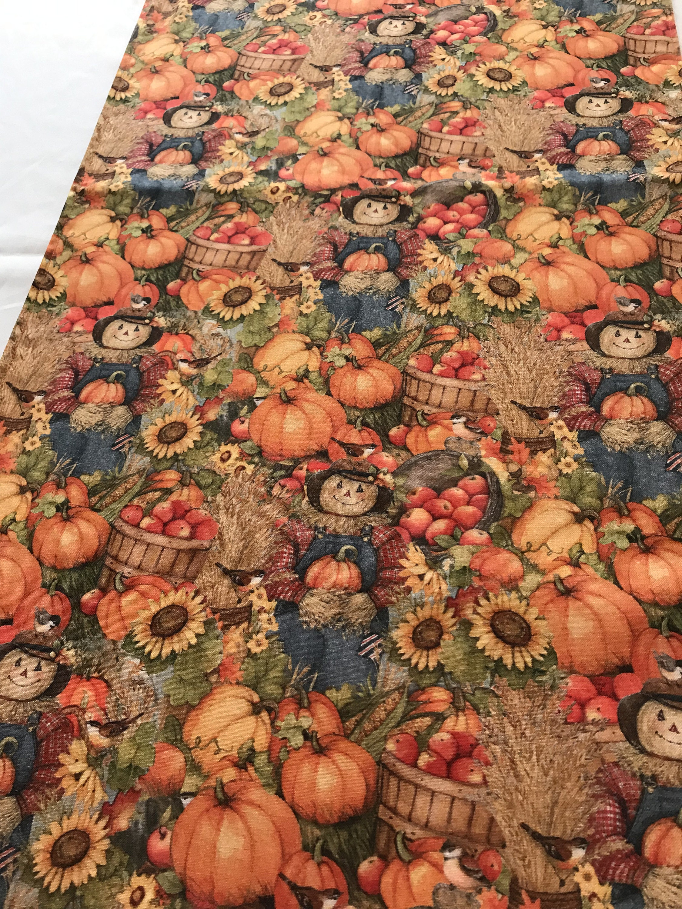 Autumn Table Runner Autumn Table Decor Autumn Table