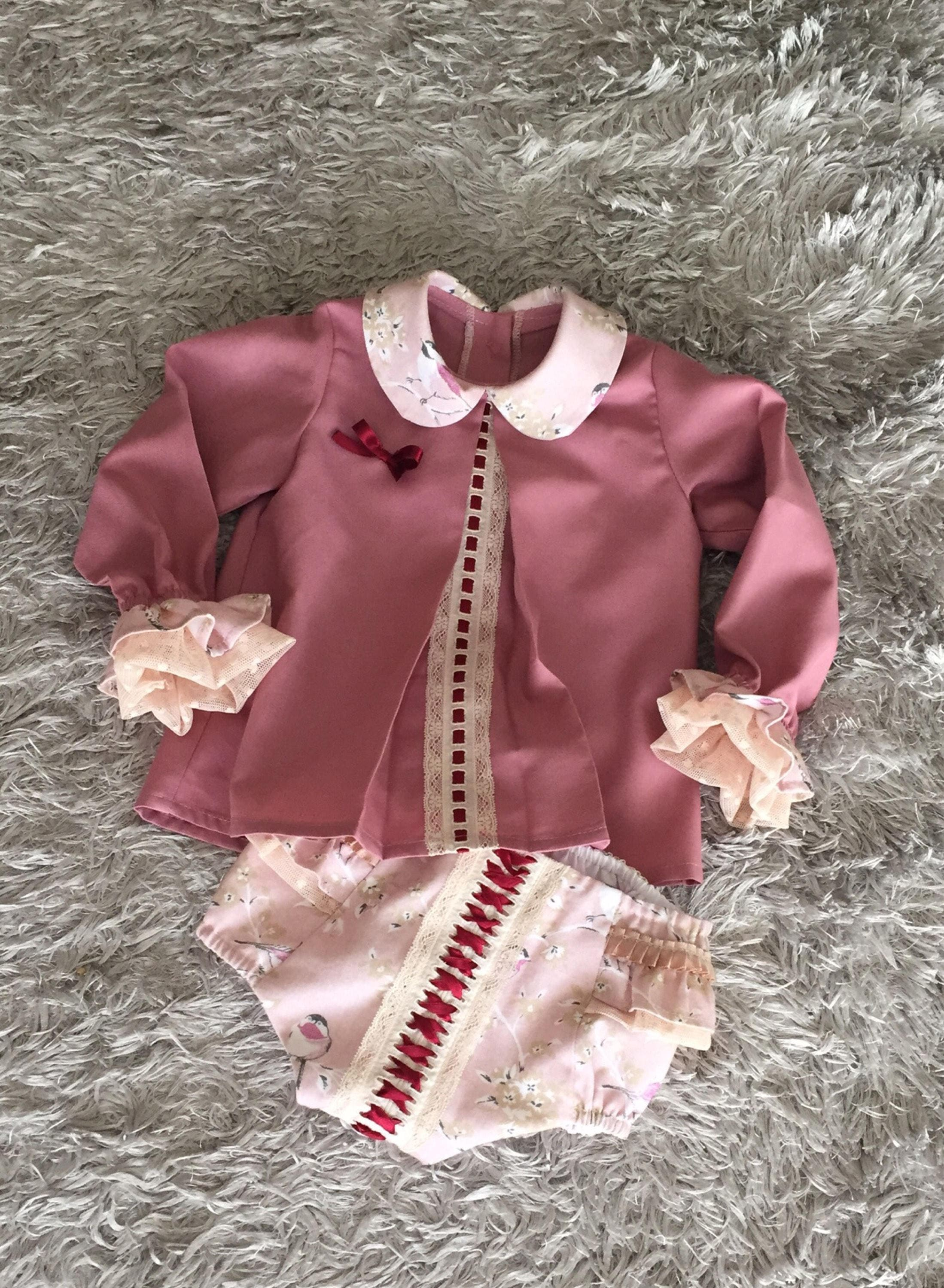 One-pieces Baby Girls Spanish Vest 6m