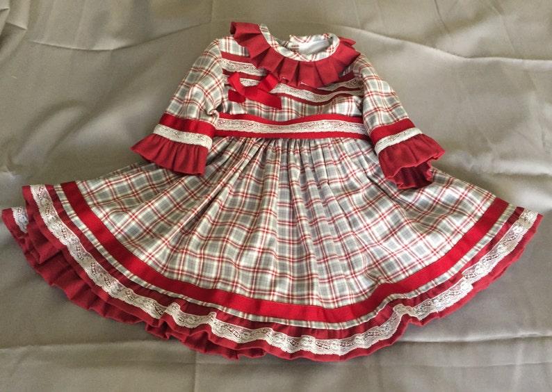 21fcad21e Vestido bebé niña hecho mano España boda fiesta otoño invierno