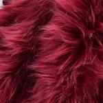 Burgundy Faux Fur Fabric Craft Squares, Burgundy Fur Fabric, Dark Red Faux Fur Fabric, Dark Red Fur, Burgundy Fake Fur, Dark Red Fur