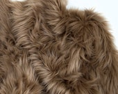 Light Brown Faux Fur Fabric Craft Squares, Light Brown Fur Fabric, Light Brown Fur Material, Light Brown Faux Fur