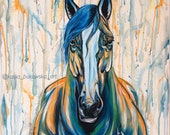 I See You - Original Horse Painting