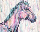 Gentle Eye - original equine art
