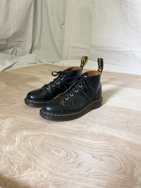Dr Martens church monkey boots