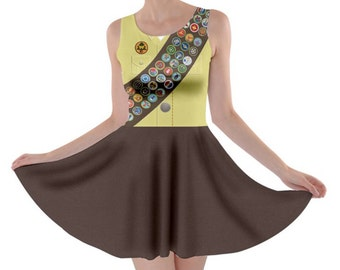 READY-to-SHIP [XL] Russell Up Wilderness Explorer Inspired Skater Dress