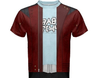 Men's Star Lord Guardians of the Galaxy Inspired Shirt
