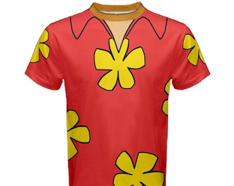 READY-to-SHIP Men's Dale Chip and Dale Rescue Rangers Inspired ATHLETIC Shirt