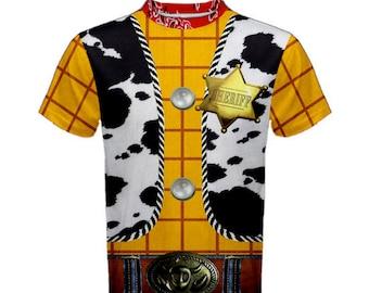 Men's Woody Toy Story Inspired Shirt