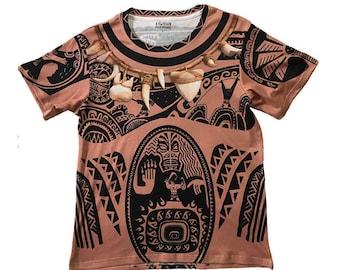 Men's Maui Moana Inspired Shirt