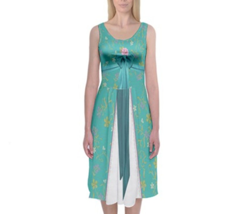 e6959f27 Giselle Enchanted Inspired Tank Midi Dress | Etsy