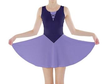 Adult Vanessa Little Mermaid Inspired Skater Dress