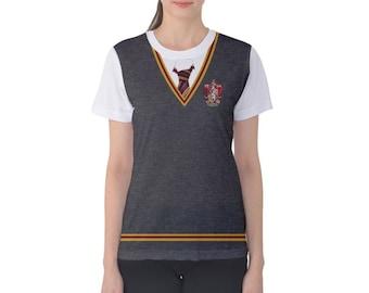 Women's Gryffindor Harry Potter Inspired Shirt