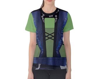 READY-to-SHIP [XL] Women's Gamora Guardians of the Galaxy Inspired Shirt