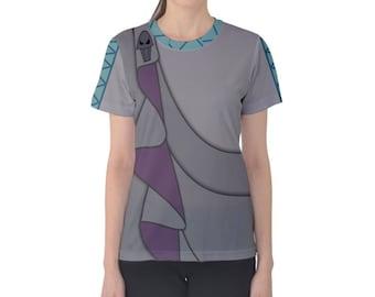 Women's Hades Hercules Inspired ATHLETIC Shirt