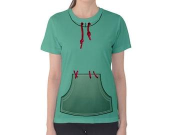 Women's Wreck-It Ralph Vanellope Von Schweetz Inspired Shirt